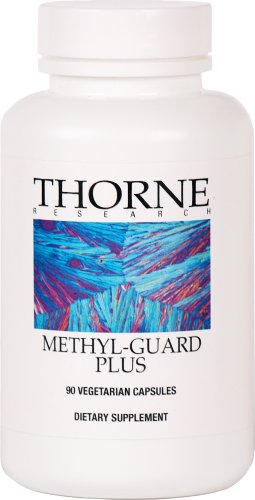 Метил Гард Плюс (Thorne Research Methyl-Guard Plus), 90 вегетарианских капсул