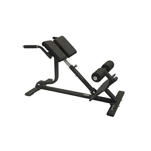 Torque Fitness Back Extension Bench, Black by Torque Fitness