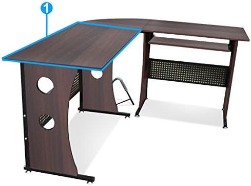 Escritorio esquinero Popamazing ordenador de esquina para muebles ...