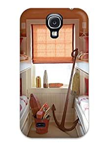 High Grade ZippyDoritEduard Flexible Tpu Case For Galaxy S4 - Kids8217 Room With Trundle Bunk Beds And Seaside Decorations
