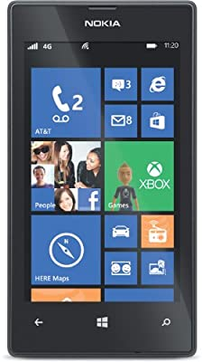 Nokia Lumia 520 (AT&T Go Phone) No Annual Contract (Discontinued by Manufacturer)