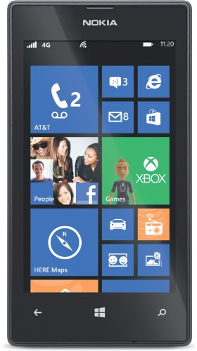 Nokia Lumia 520 (AT&T Go Phone) No Annual Contract (Discontinued by Manufacturer) (Smartphone Contract)