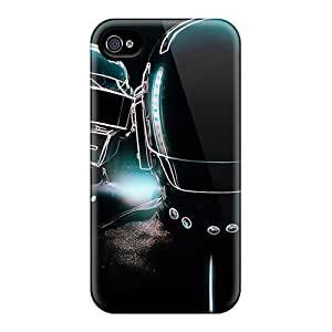 For Iphone Case, High Quality Daft Punk For Iphone 4/4s Cover Cases