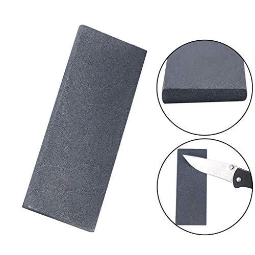 AfazfaMulti-Purpose Sharpener Scissors & Tool Sharpener Portable Double Sided Whetston (Gray)