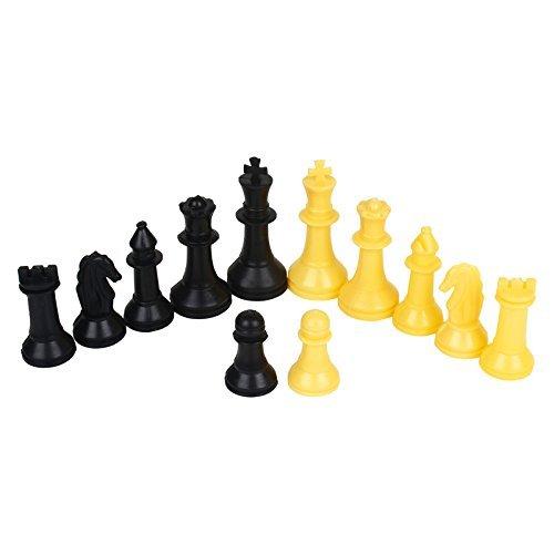 (PREM SAGAR Set of Heavy weight Plastic Chessman / Chess Powns)