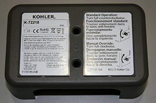 - Kohler 1178736 Assembly, EKF Cover for Kohler K-72218 Sensate Electronic Faucet
