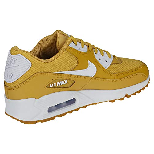 White Nike Light Wheat Brown Max 90 Air Gum Multicolore Gymnastique WMNS Gold 701 White Femme de Chaussures Beige aBrawAq6xn