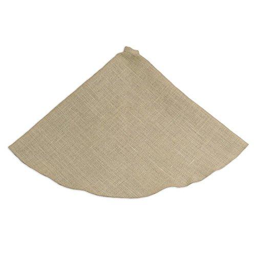 UPC 846633562962, Brite Ideas Living & Company Burlap Natural Round Hemmed Tree Skirt, 51-Inch