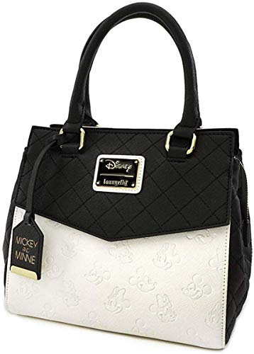 Loungefly Disney Mickey & Minnie Mouse Faux Leather Handbag