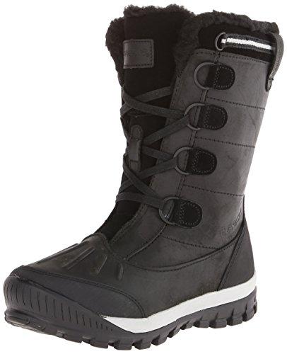 BEARPAW Women's Desdemona Winter Boot, Black, 10 M ()