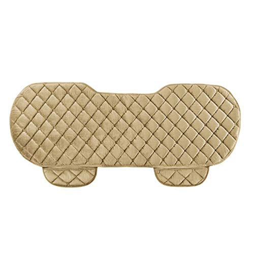 ReFaXi Rear Back Car Auto Seat Cover Protector Mat Chair Cushion Pad Comfort Universal (Beige)