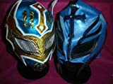 SIN CARA REY MYSTERIO WRESTLING MASK WRESTLER FANCY DRESS UP COSTUME OUTFIT MASK MEXICAN RAY CHILDREN KIDS FANCY DRESS UP COSTUME OUTFIT SUIT NEW SERIES TNA ECW BOYS KIDS NEW
