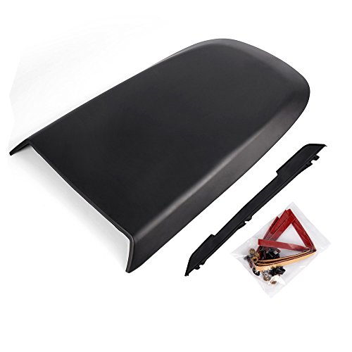 Front Racing Hood Scoop Vent Cover for 2005-2009 Ford Mustang GT V8 ABS Plastic Racing Sport Style Air Flow Intake Hood Scoop 2006 2007 ()