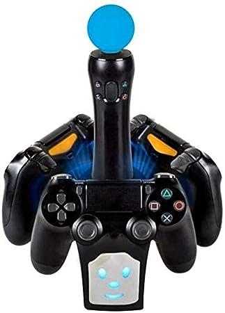 EEkiiqi - Base de carga para mando de Playstation 4 en 1 para PS4, PS4 Slim, PS4 Pro y PS: Amazon.es: Electrónica
