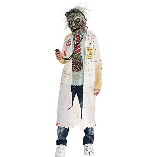 Zombie Doctor Halloween Costume for Boys, Large, with Included Accessories, by -