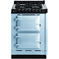 AGA TCDCNGM 24 Inch Wide 2.63 Cu. Ft. Slide In Gas Integrated Module Range for A, Duck Egg Blue