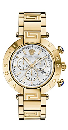 Versace Men's 'REVE CHRONO' Swiss Quartz Stainless Steel Casual Watch (Model: VQZ080015)