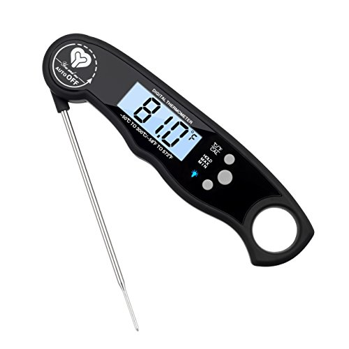 Instant Read Digital Thermometer, Cooking Food Thermometer for Kitchen