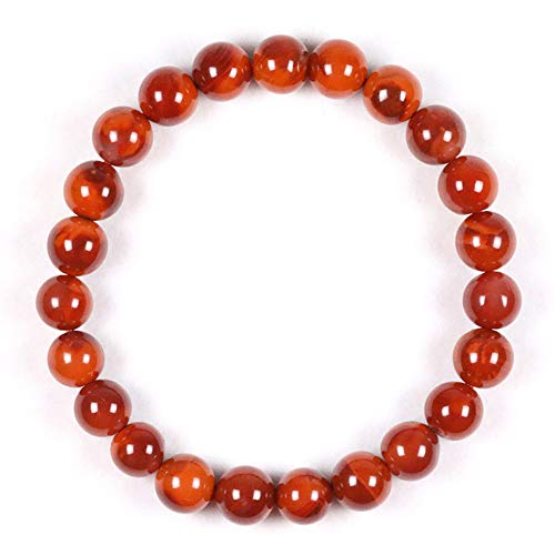 Semi Precious Agate - J.Memi's Healing Gemstone Beads Bracelet Crystal Therapy Agate 7/8/9/10Mm Round Semi Precious Beads Natural Jewelry Unisex,8mm