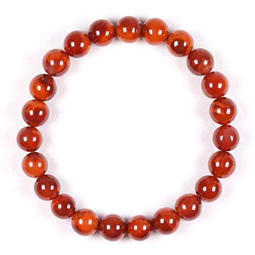 (J.Memi's Healing Gemstone Beads Bracelet Crystal Therapy Agate 7/8/9/10Mm Round Semi Precious Beads Natural Jewelry Unisex,8mm)