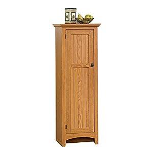 Sauder Summer Home Pantry – Carolina Oak