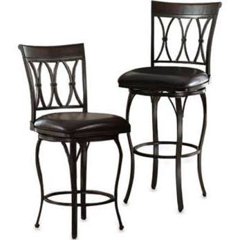 Amazoncom Bedford 30 Inch Bar Stool Set Of 2 360 Drgree Swivel