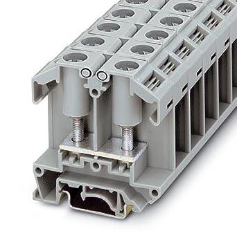 DIN Rail Terminal Blocks OTTA 25-M6: D Terminal Cables