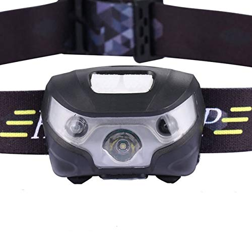 Led 3 Tikka Headlamp (1 Pc 4000 Lumen 30W 3 Mode Body Motion Sensor Mini LED Headlamp w/USB Cable Ultra Xtreme Waterproof Headlights Heart-stopping Fashionable High Lumens Bright Light Hiking Camping Tactical Flashlights)