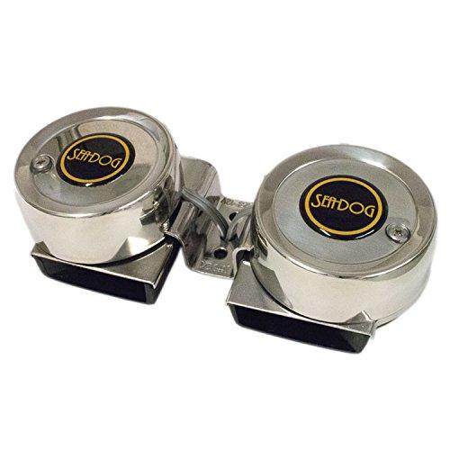 Sea-Dog 431125-1 Max Blast Twin Mini Compact Horn ()