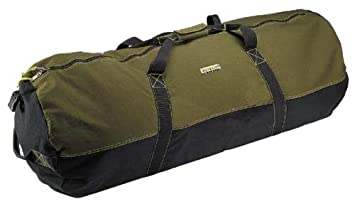 Amazon.com: Ledmark Heavyweight Cotton Canvas Outback Duffle Bag ...