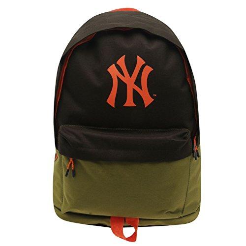 New York Yankees MLB Rucksack braun/orange Baseball Rucksack Tasche