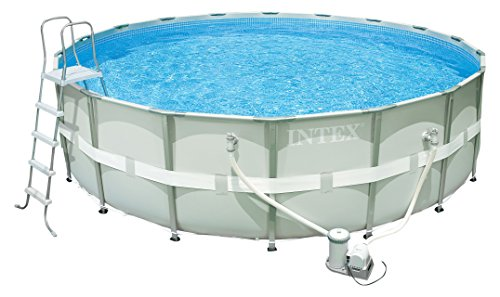 Intex Ultra Frame Pool Set, Ø 488 x 122 cm, mit Filterpumpe