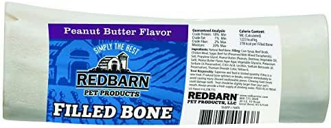 Dog Treats: Redbarn Large Filled Bones