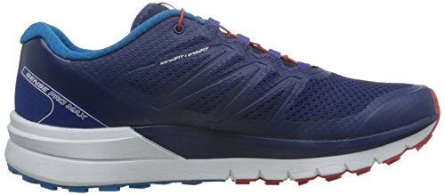 Bleu Max Red Salomon Blue 3 Fiery Bleu Depths White 49 Pro Chaussures de EU 59 Sense Homme Trail rnnCaP
