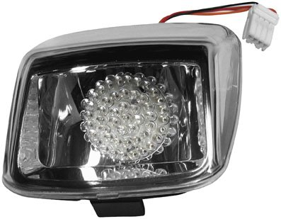 (Radiantz LED Tail Lamp for Deuce Models - Clear Lens 9930-10)