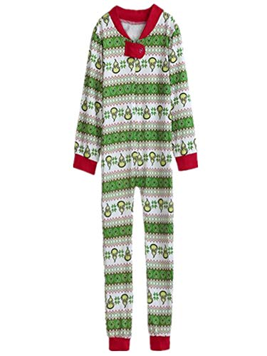 LisYOU Baby Family Matching Pajamas Set Women Kid Adult Sleepwear Nightwear(4T, Kid-Green) -