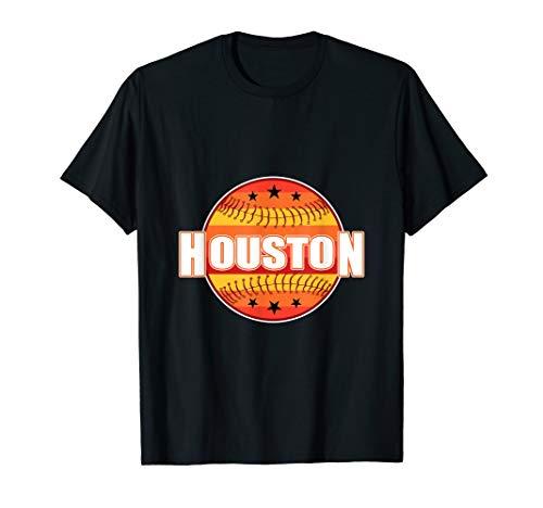 Retro Houston Baseball T-Shirt Throwback]()