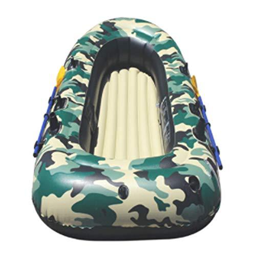HYYQG 3+1 Person Inflatable Kayak,Sea Fishing Kayak Accessories Aluminum Alloy Paddle Air Pump Kit Bottom Plate Bag