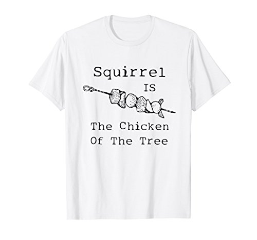Country Cooking Roadkill Funny Tee Squirrel Meat Grilling