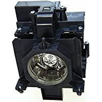 QueenYii 610-346-9607 / LMP136 / ET-SLMP136 Compatible for EIKI LC-WXL200 Replacement Projector Lamp with bulb inside