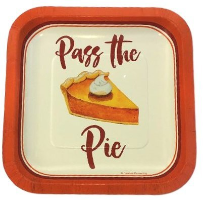 Pass The Pie Luncheon Dessert Plates -