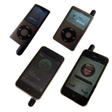 Exeze - Mini microfono MM1 per iPod nano, iPod, iPod touch, iPhone 3G/3GS, colore: Rosso