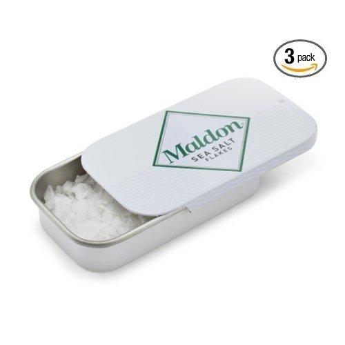 : Maldon Sea Salt Flakes Pinch Tin (3 Pack)