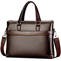Leather Business Men's Briefcase Handbags Men Casual Crossbody Shoulder Bag Travel Laptop Bag