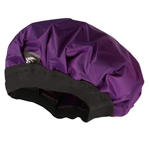 Yebeauty Cordless Deep Conditioning Heat Cap, Thermal Conditioning Heat Cap for Hair Styling Treatment, Heated Hair Steamer Gel Cap for Deep Penetrating Hair and Hair Care - Purple