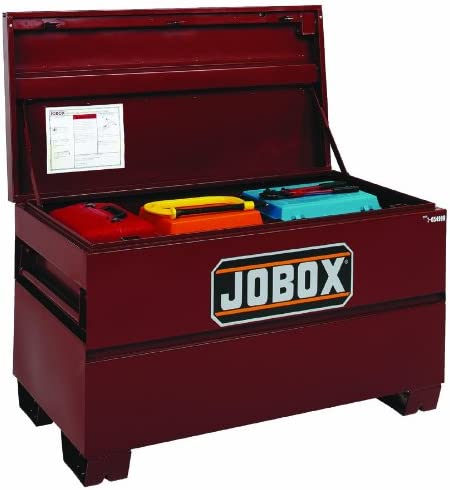 Jobox 217-1-653990 9.30 cubic feet Capacity, 42 Width, 23-3 8 Height, 20 Depth, Steel On-Site Chest