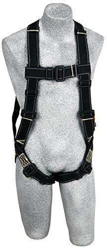 Harnesses B2 Nomex/Kevlar Fiber Webbing Vest Style Pvc Coated Hardware Back D-Ring Pass Thru Buckles (Size Universal) - Pass Thru Buckle