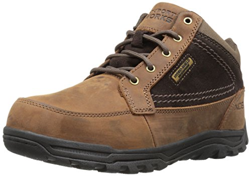 Rockport Work Men's Trail Technique Mid RK6671 Industrial and Construction Shoe, Brown, 12 W US ()