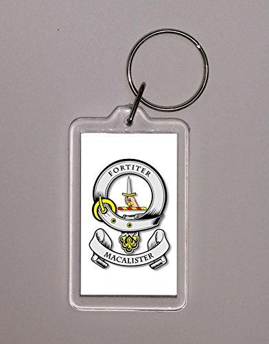 Longhands of the clan Scott - Clan Badge Keychain - Key Chain - Key Ring - Genealogy - Heraldry - Heraldic - Surname - Sept