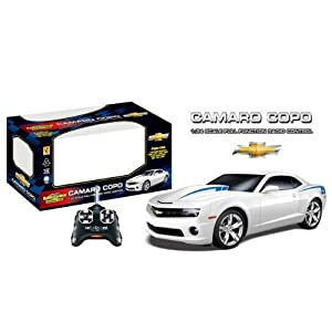 2013 Chevrolet Camaro COPO RC Remote Control Sports Car 1:24 Scale Model (White) - 41oUzLQpnWL - 2013 Chevrolet Camaro COPO RC Remote Control Sports Car 1:24 Scale Model (White)